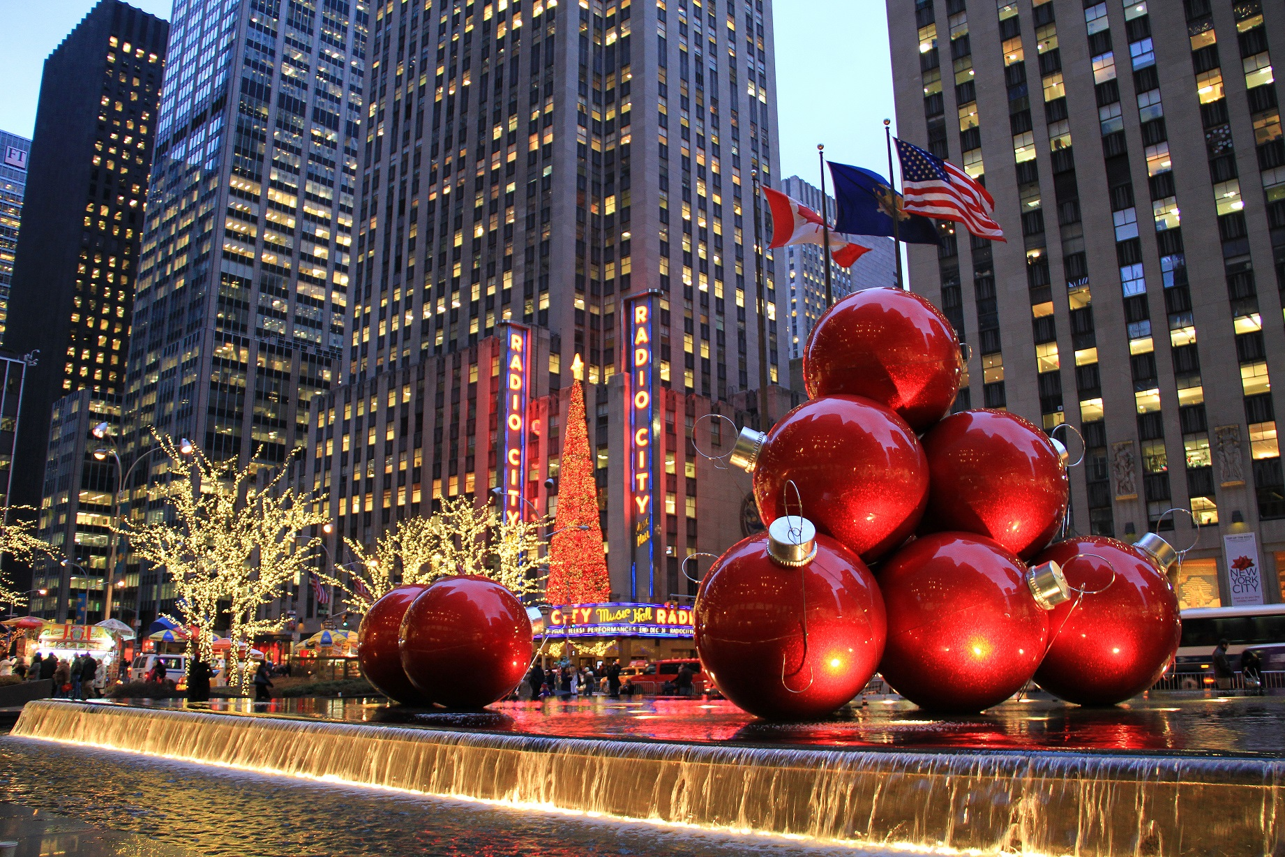 Christmas Market New York City.New York Brings Back The Christmas Magic You Are It