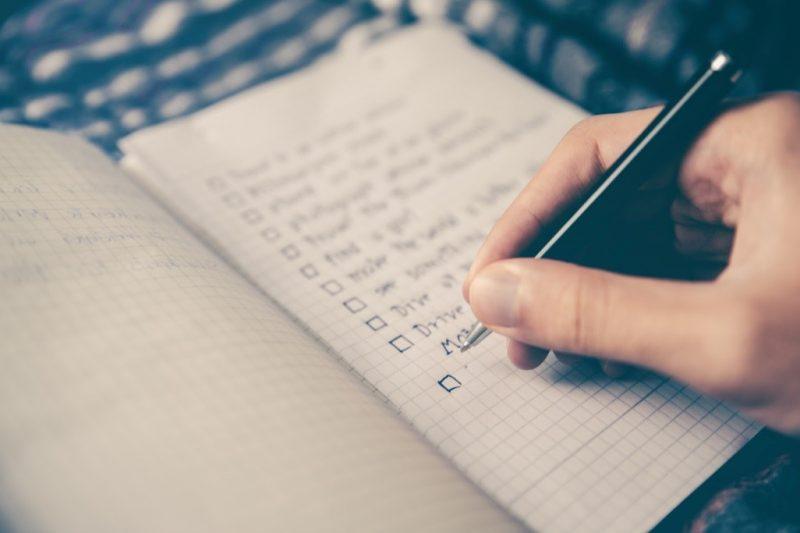 cuadernos lista propositos