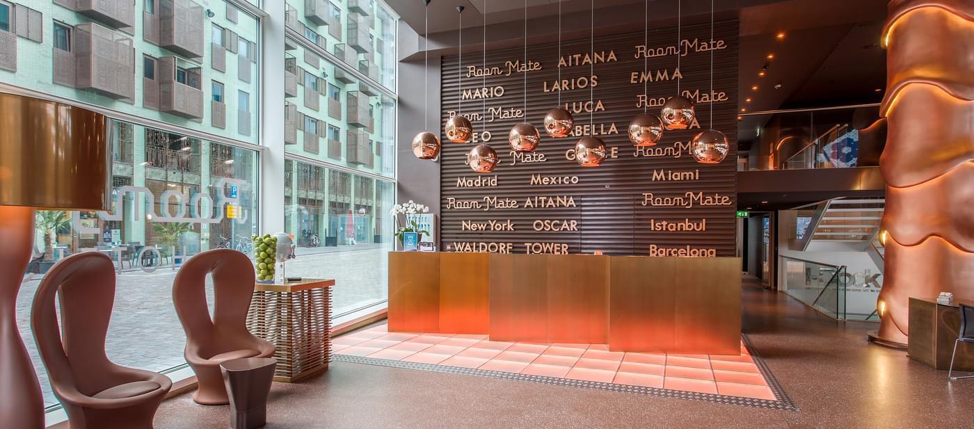 Designer Hotel In Amsterdam City Center Room Mate Aitana