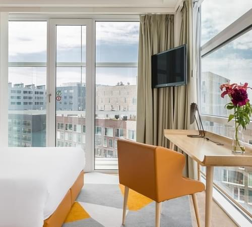 Boutique hotel rooms in Amsterdam Aitana