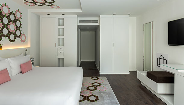 Design Hotel In Barcelona Room Mate Carla