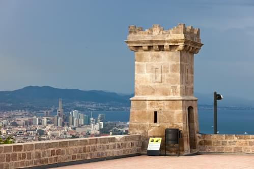 Montjuïc Castle and its views