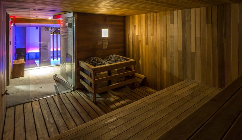 Sauna des Room Mate Grace Hotels