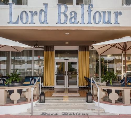 Room Mate Lord Balfour Hotel Entrance