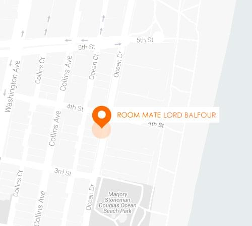Room Mate Lord Balfour, hotel boutique en Miami Beach