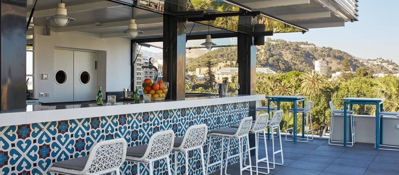 Azulejos terraza d diseo convexo de acero inoxidable Azulejos para terrazas