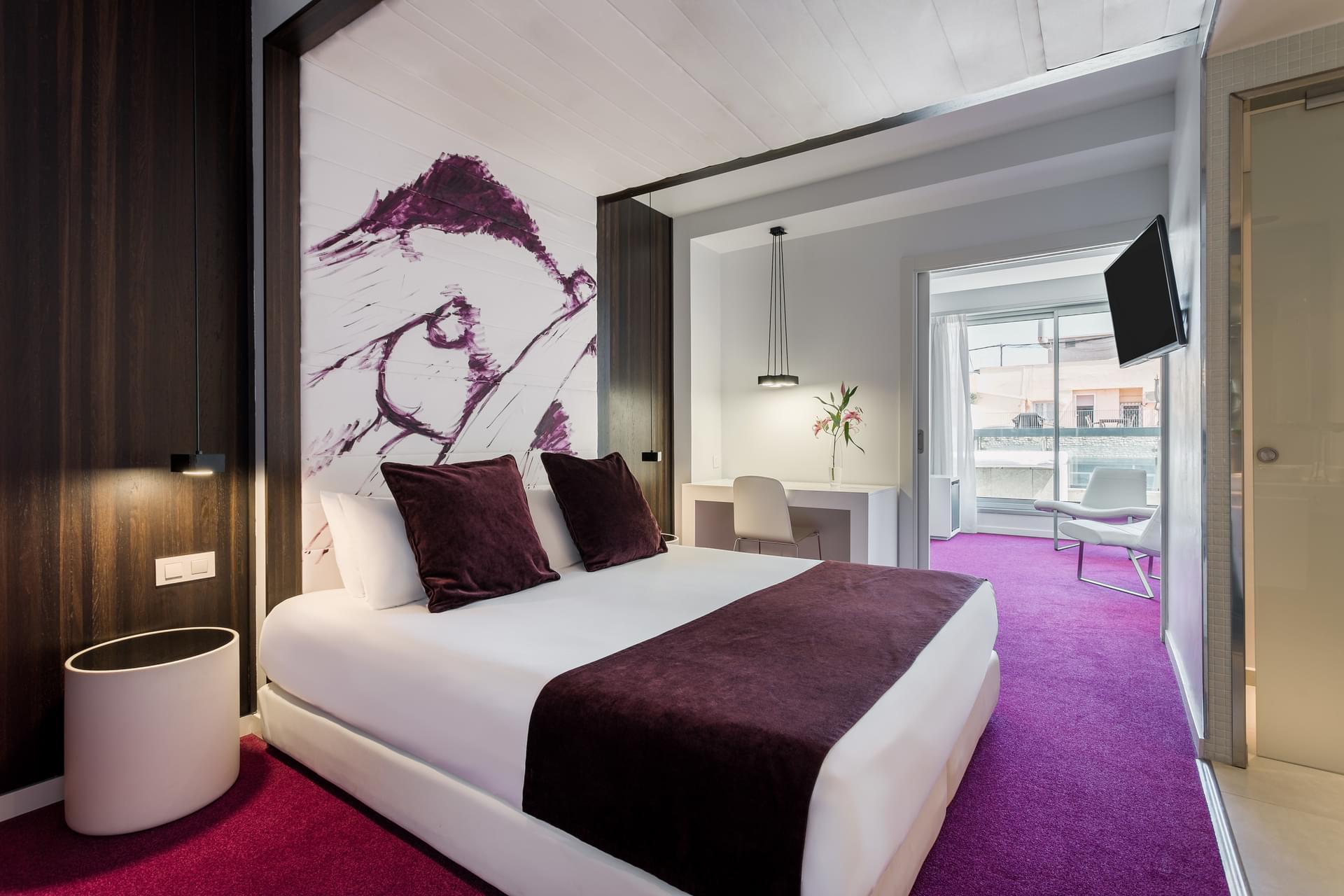 Photo gallery boutique hotel room mate emma - Matelas dunlopillo trendy room 24 ...