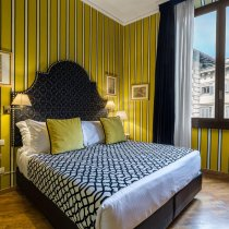 Trendy hotel rooms in Florence
