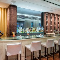 Lounge bar en el hotel Lord Balfour